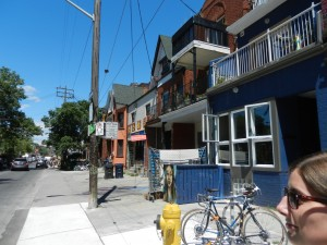 Unsere Nachbarschaft auf der Augusta Avenue